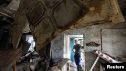 Uništeni domovi u poplavama na jugu Rusije
