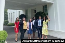 Jirayuth Latthivongskorn and 5 other DACA recipients met with President Joe Biden on May 14, 2021.