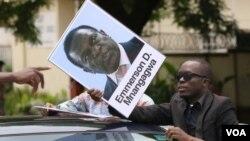 UMnu. Emmerson Mnangagwa.