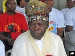 Rei Kabombo nas celebrações do Dia da Paz em Malanje