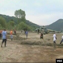 Forenzičari nastoje obaviti što više prije nego se jezero Perućac ponovo napuni vodom
