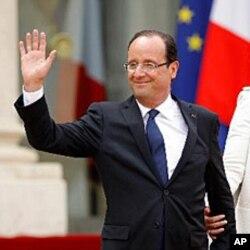 فرانس کے نو منتخب صدر فرانسواں اولان