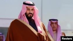 Le prince Mohammed ben Salmane participe à la cérémonie de remise de diplôme à la King Faisal Air College à Riyad, Arabie Saoudite, le 25 janvier 2017