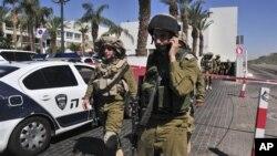 cảnh sát israel phong tỏa khu vực xảy ra vụ nổ súng