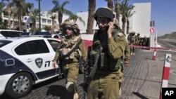 5일 이스라엘 에이라트에서 미국인 총기 난동 사건이 벌어진 호텔.