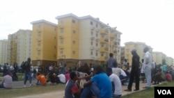À espera de casa no Kilamba