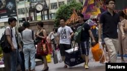 香港旺角商业区