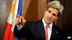 Menlu AS John Kerry akan berbicara dengan PM Israel Benjamin Netanyahu dan Presiden Palestina Mahmoud Abbas minggu ini (foto: dok).