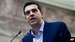 Yunanıstanın baş naziri Aleksis Tsipras