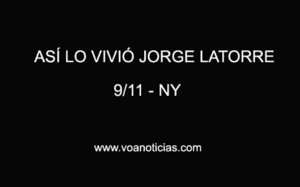 Así lo vivió Jorge Latorre