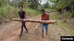 Jovens a participar da primeira edição do projeto ELLA em São Tomé e Príncipe