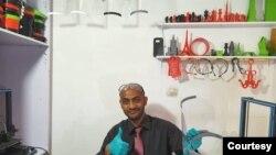 Faruk Mubarek, Aircraft Engine Technician, Ethiopian Airlines, 3D artist