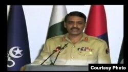 جنرال اصف غفور د واڼه د برید په اړه دوشنبې (جون۴) رسنیو ته معلومات ورکړل