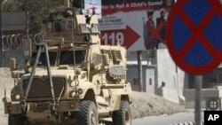 Quân đội Mỹ đến hiện trường sau các vụ tấn công ở Kabul, ngày 15/4/2012