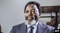 Mokonzi Joseph Kabila o'mokolo ya maponami, na Kinshasa, le 30 décembre 2018.