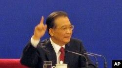 ປະທານປະເທດຈີນ ທ່ານ Wen Jiabao