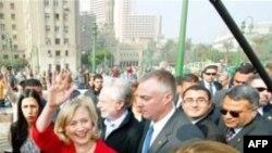 ԱՄՆ-ի արտգործնախարարն այցելել է Կահիրեի Թահրիր հրապարակ