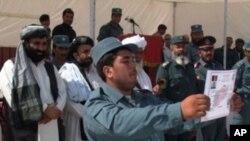 آمادگی مقامات افغان در هلمند برای پذیرفتن انتقال مسؤولیت امنیتی