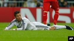 Cristiano Ronaldo, Madrid, 4 novembre 2014.