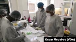 Técnicos de Saúde, São Tomé e Príncipe