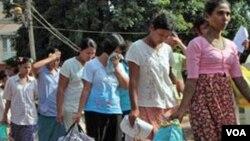 Burma-Prisoner's release