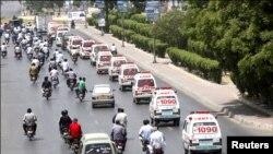 سانحہ صفورا کا سوگ، مرحومین کا آخری سفر