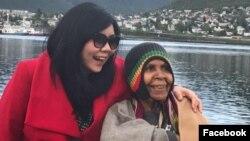 Veronica Koman (kiri), aktivis HAM dan pengacara (Courtesy: Facebook).