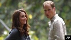 Por estos días, la duquesa y el duque de Cambridge realizan una gira en el Sudeste Asiático.