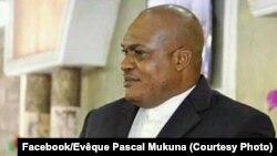 Evêque Pascal Mukuna na eyamba na ye ACK, Kinshasa, RDC, 1er février 2018. (Facebook/Evêque Pascal Mukuna)