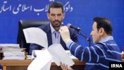 حسین هدایتی سرمایه دار معروف ایرانی در دادگاه