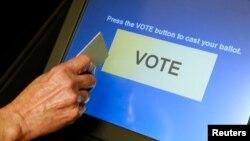 Glasanje na izborima u SAD (arhiva)