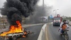 ۱۱ تن در خشونت های کراچی کشته شدند
