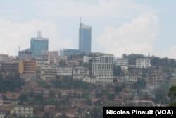 Une vue de la ville de Kigali (septembre 2011)