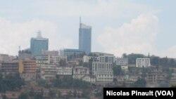 Umujyi wa Kigali urebeye mu kirere