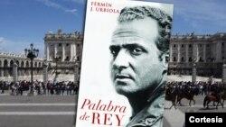 Portada del libro, Palabra de rey, de nuestro entrevistado, Fermín J. Urbiola.