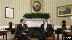 Kral Abdullah geçen ay Beyaz Saray'da Başkan Obama ile