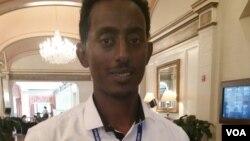 Ethiopian Dawd Mohammed at YALI 2015