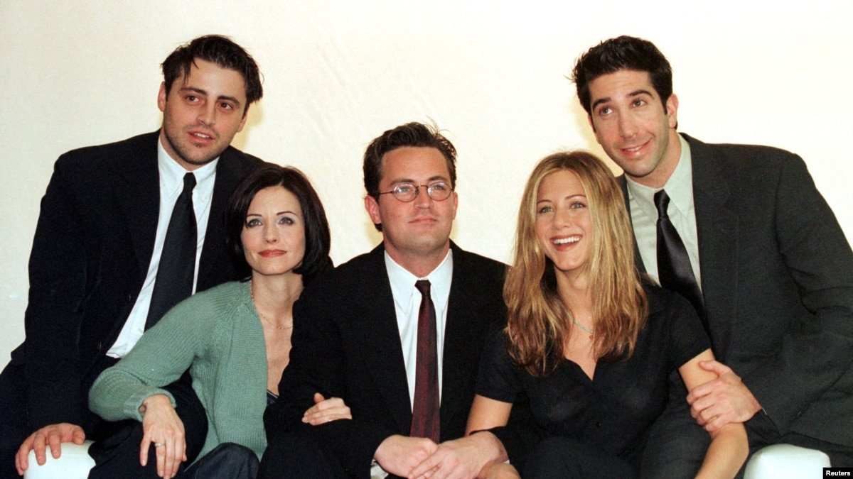 Students Learn English from 'Friends' on American TV
