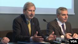 Johanes Han govori na samitu zemlja Zapadnog Balkana i EU u Trstu