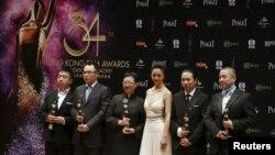 Acara Festival Film Hong Kong bulan April tahun lalu (foto: dok).
