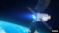 Teknologi robotik dan canggih SEP suatu kali dapat menemukan, menangkap dan merelokasi asteroid ke titik yang stabil di luar daerah bulan. (Foto: NASA)