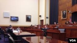 眾議院外交事務委員會舉行台灣關係法聽證會 (美國之音鍾辰芳)