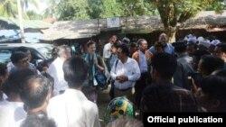Perwakilan PBB di Myanmar mengatakan pemerintah telah memberikan akses kepada diplomat asing dan pekerja bantuan untuk memasuki negara bagian Rakhine (Foto: dok).