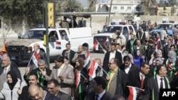 Các luật sư Iraq biểu tình kêu gọi chấm dứt tham nhũng và ngược đãi tù nhân