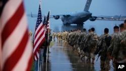 Američki padobranci, 4. januar 2020. Foto Spc. Hubert Delany III/U.S. Army via AP