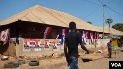 Cidade de Bissau, por altura das Eleições Gerais de 13 de Abril de 2014. Guiné-Bissau