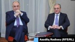 Elmar Məmmədyarov və Zöhrab Mnatsakanyan
