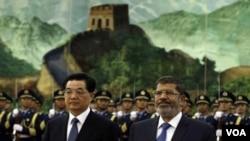 مصر کے صدر کا دورہ چین