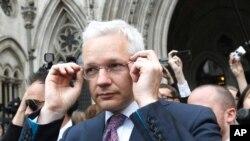 Julian Assange (Foto:Reuters)