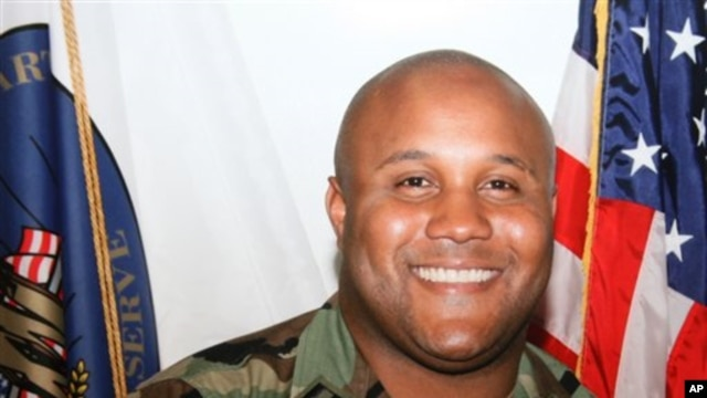 Photo of Christopher Dorner released by Los Angeles police department